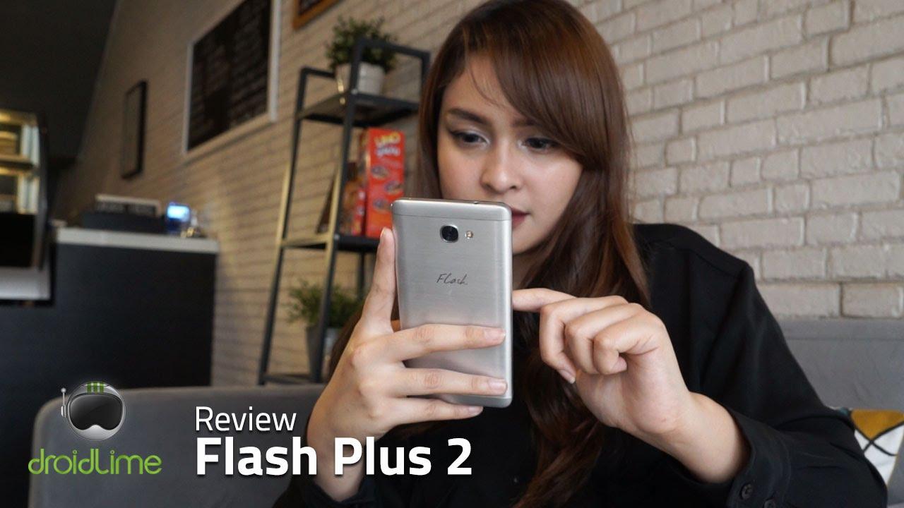 Flash Plus 2, Smartphone canggih dengan harga kurang dari 3 juta