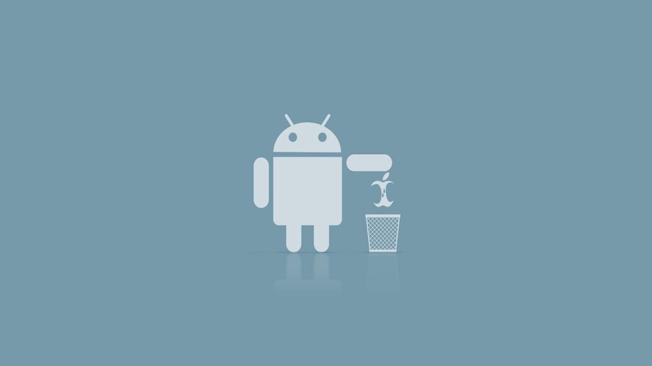 Android lebih baik ketimbang iPhone