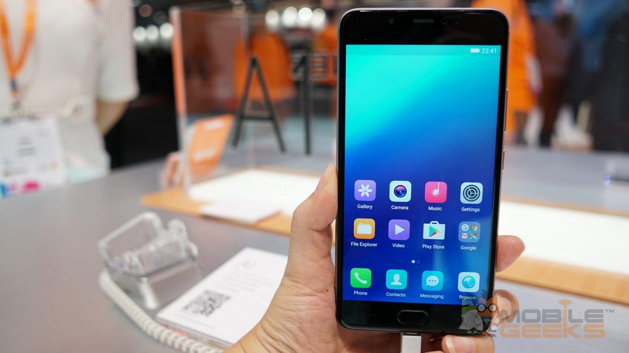 Gionee meluncurkan produk smartphone terbaru nya di MWC 2017
