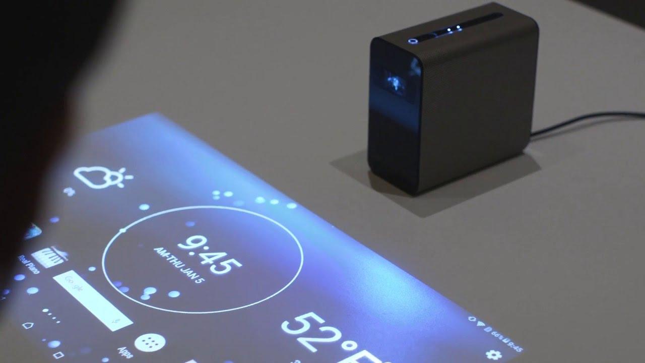 Sony Xperia Touch Projector, proyektor canggih yang bisa membuat media apapun menjadi touchscreen