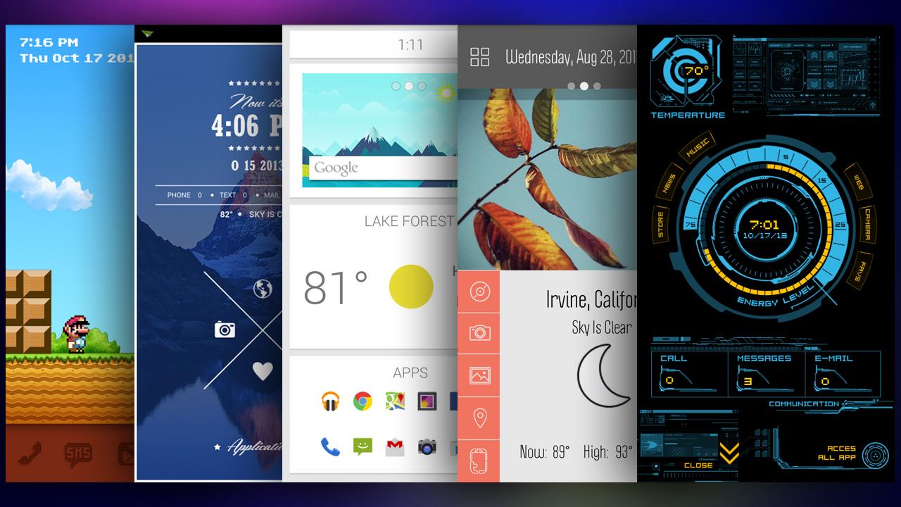 Penggunaan widget berlebih akan menambah kinerja RAM smartphone